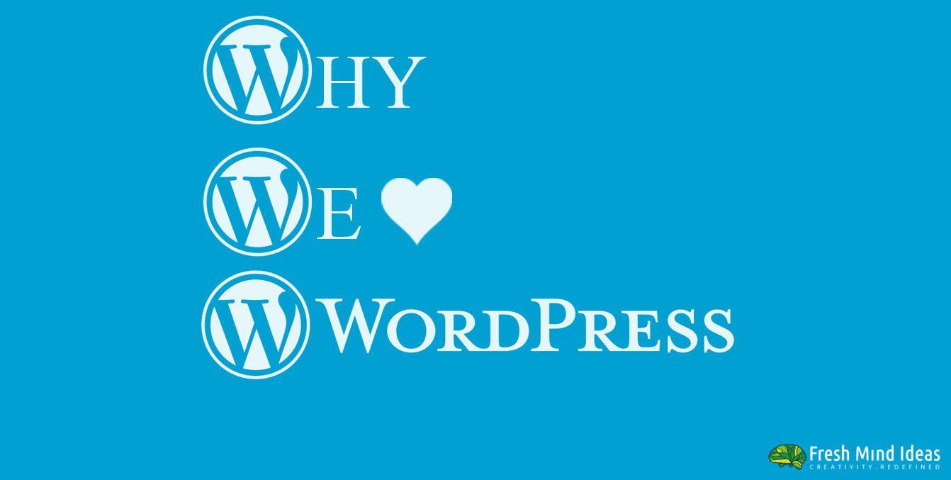 WHY WORDPRESS ? – BANGLORE BASED WEB DESIGN STUDIO EXPLAINS