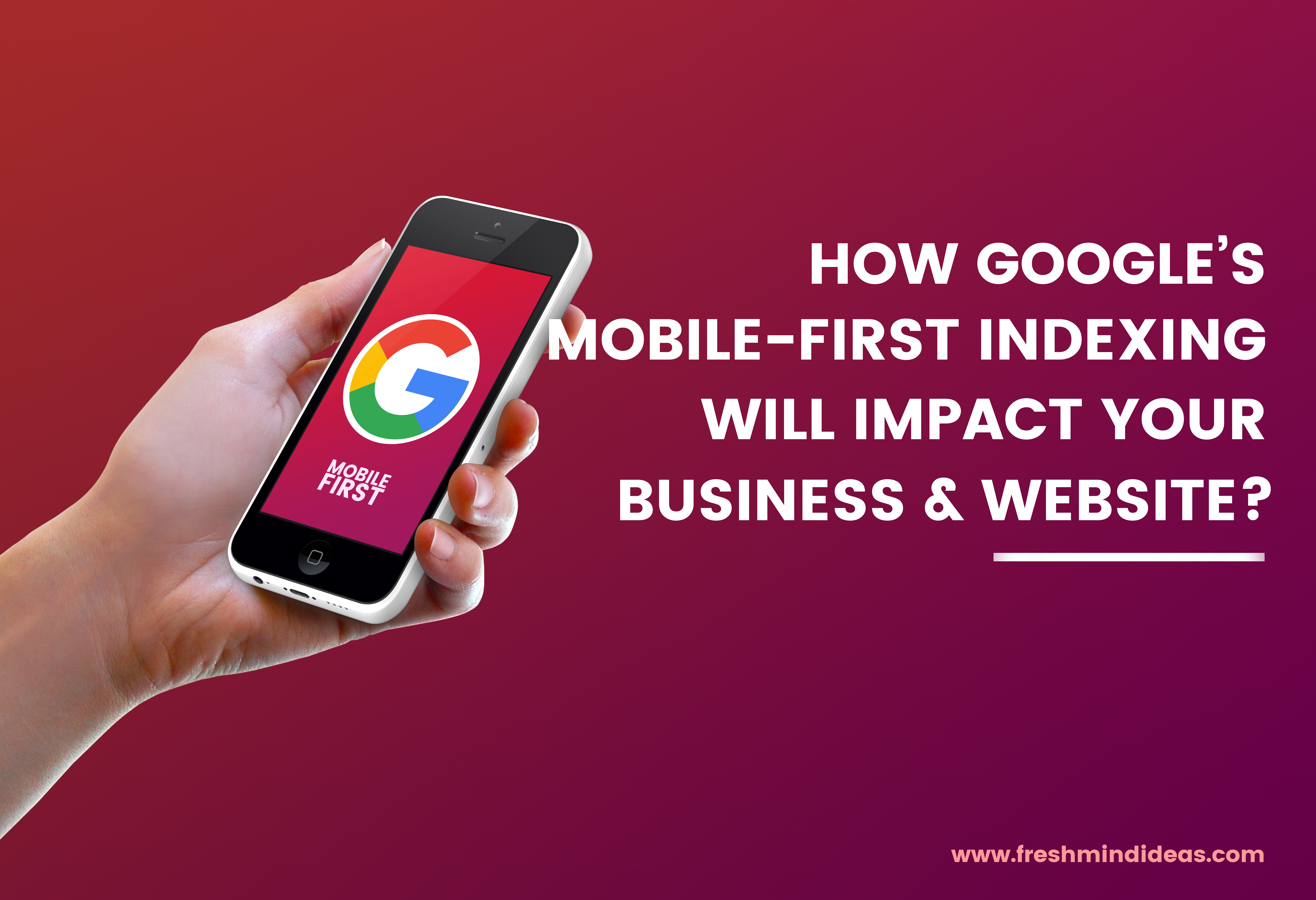 Google mobile first CEO