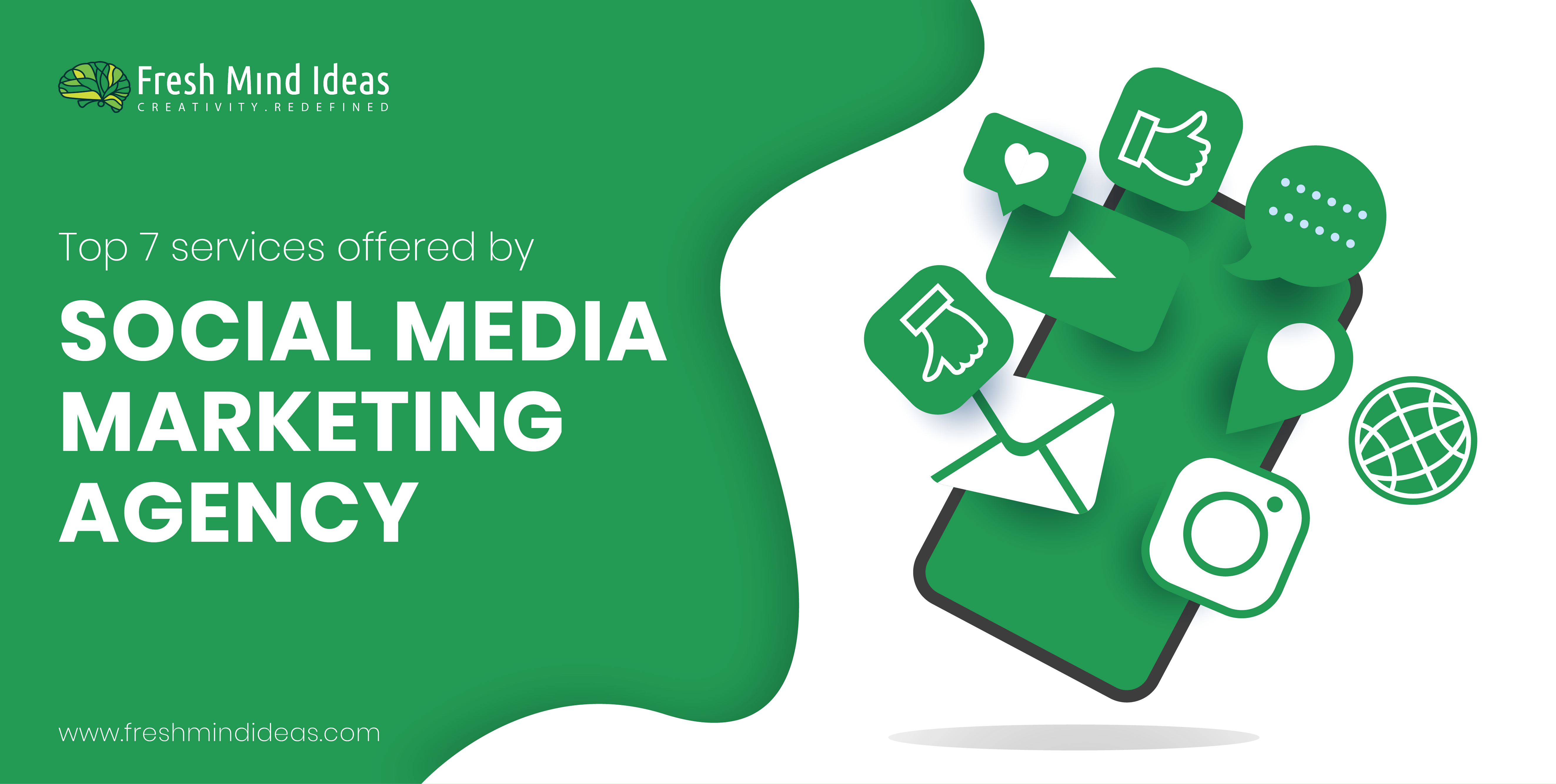 Top 7 Services Offered By a Social Media Marketing Agency in Bangalore