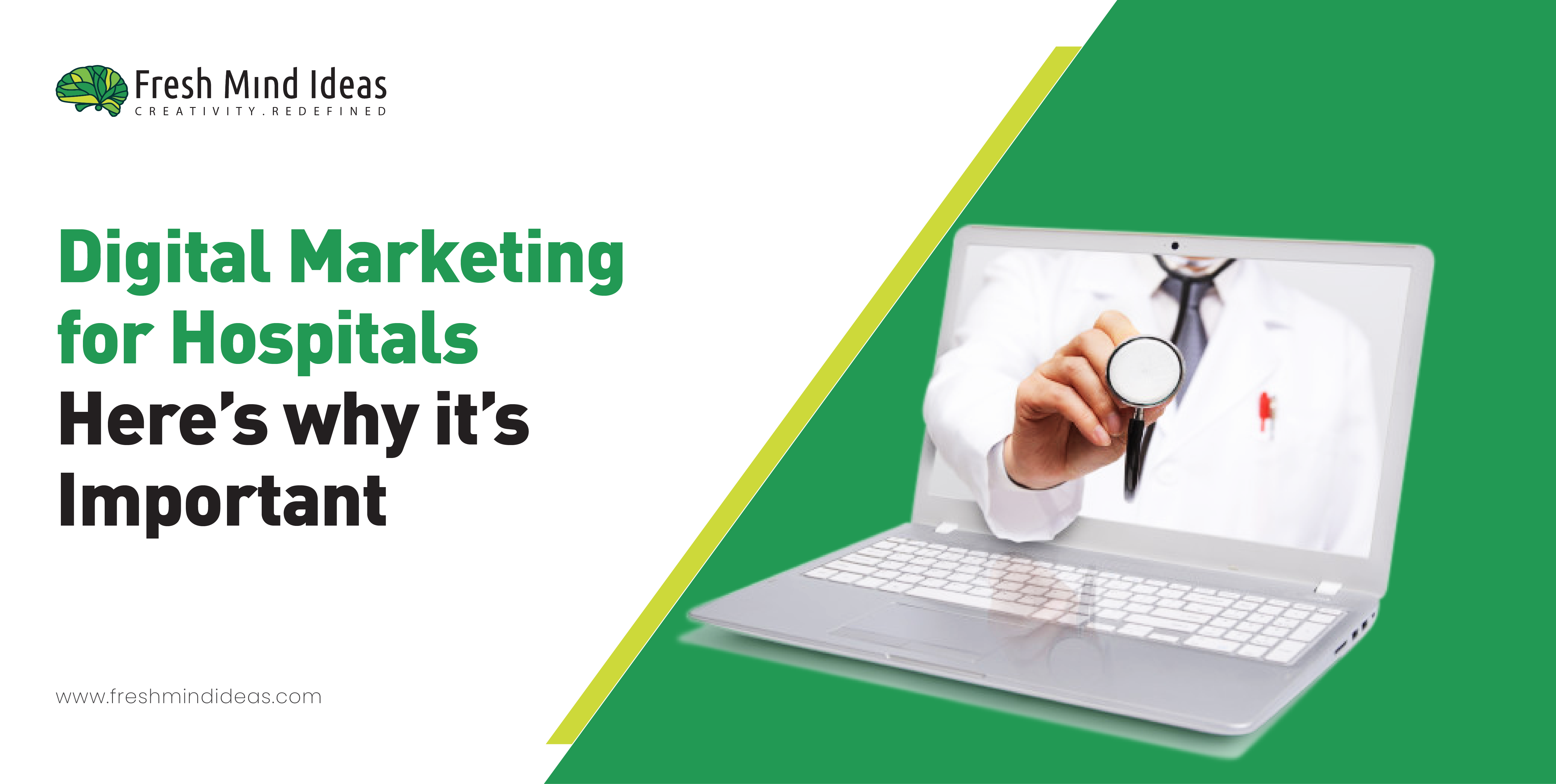 Digital marketing for hospitals here is why it is important.