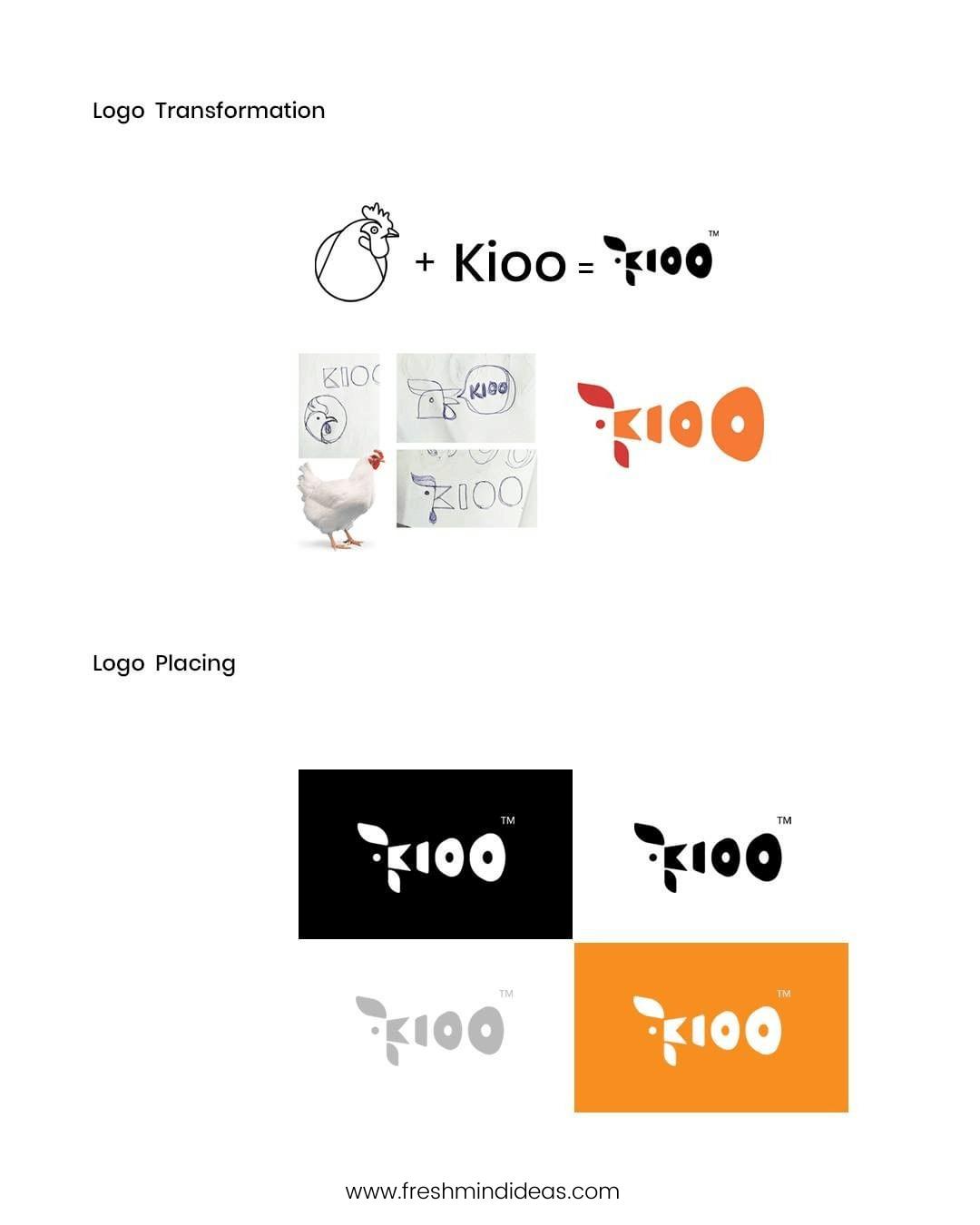 Kioo Chicken Branding -FreshMindIdeas