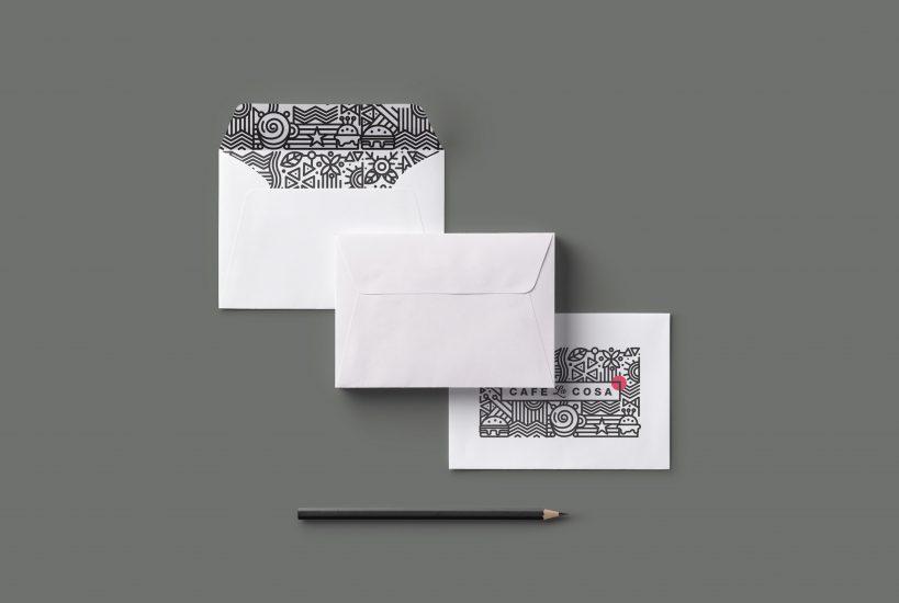 cafe-la-cosa Branding & Identity, Creatives Print & Packaging, Logo Design.