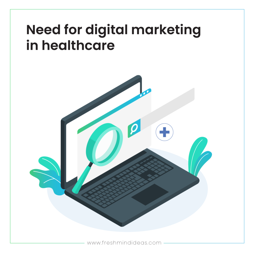 Need for digital marketing in healthcare