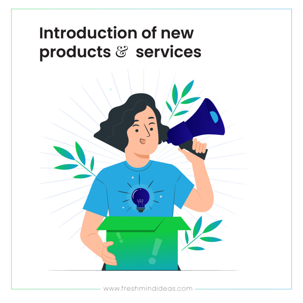 new products and services