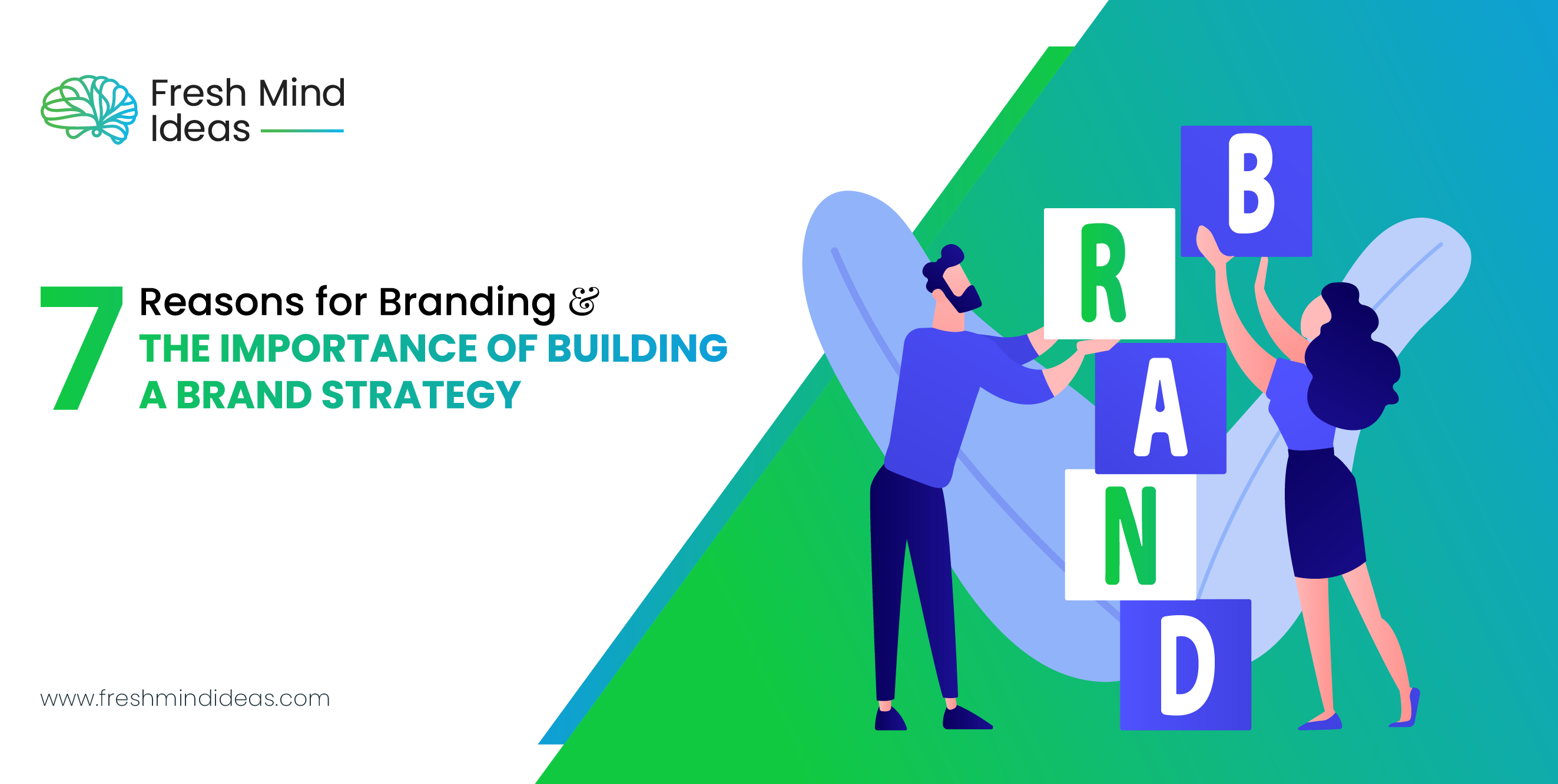 7 Reasons for Branding & the Importance of Building a Brand Strategy